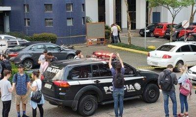 Homem é assassinado a tiros na PUCRS, em Porto Alegre 27