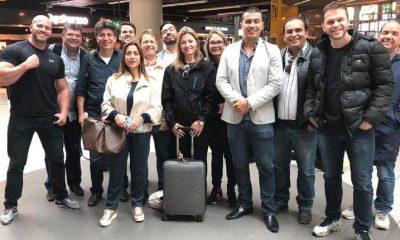 Parlamentares em viagem à China vão processar Olavo de Carvalho 97