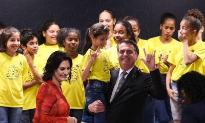 """""""Lutaremos incansavelmente para que o voluntariado seja uma marca do novo governo"""", diz Michelle Bolsonaro em discurso 16"""