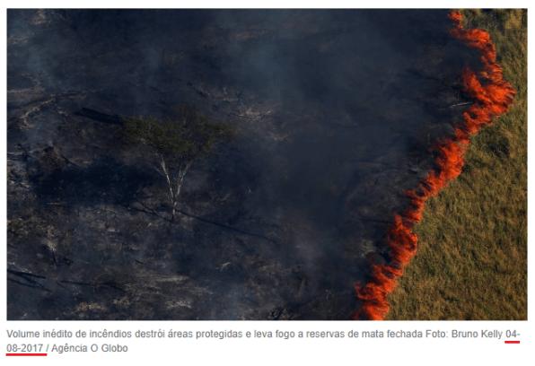Checamos! Para criticar suposto descaso com a Amazônia, celebridades e líderes políticos publicam imagens antigas 27