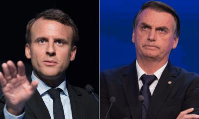 Bolsonaro rebate Macron e diz que visão do francês 'evoca mentalidade colonialista descabida no século XXI' 27