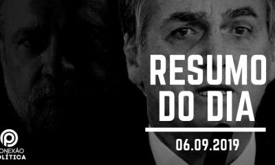 PODCAST: Ouça o Resumo do Dia (06/09/2019) #5
