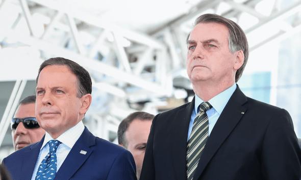 Doria vaiado e Bolsonaro aplaudido 24