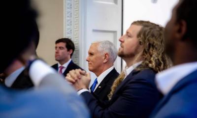 """Músicos cristãos enchem a Casa Branca de louvor a Jesus: """"Que esse som traga grande esperança para a América!"""" 15"""