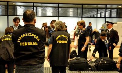 PF prende quatro passageiros por tráfico internacional de drogas no Aeroporto Internacional de São Paulo 27