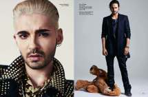 Bill e Tom Kaulitz para revista L'Officiel Hommes (24.10.2014) 6