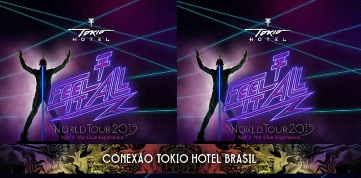 De-code-LTD e Tokio Hotel farão anúncio sobre Feel It All Tour Part 2 amanhã!