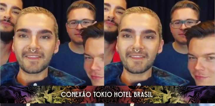 Mensagem de vídeo do Tokio Hotel para a Smash Press! (01.03.2015)