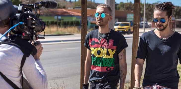 Trailers oficiais do documentário do Tokio Hotel