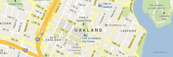 Oakland-map
