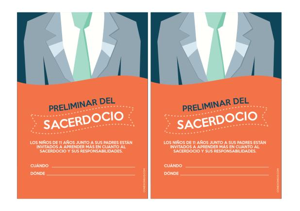 Preliminar del Sacerdocio - Conexión SUD