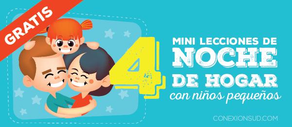 4 mini lecciones de Noche de Hogar con niños pequeños