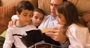 Cuando la vida familiar se basa en las enseñanzas de Jesucristo, podemos ser felices.