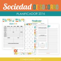 Planificador de la Sociedad de Socorro 2016 – Conexion SUD