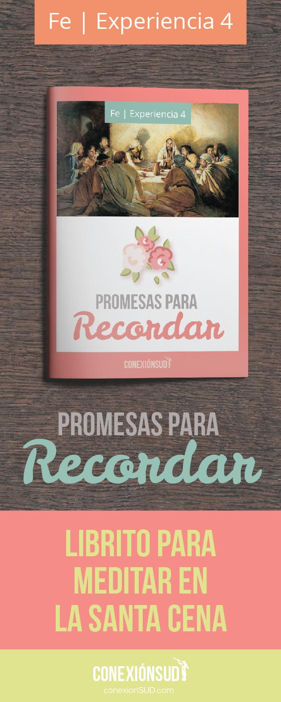 librito de la santa cena - Promesas para recordar - fe4 - progreso personal Conexion SUD-02