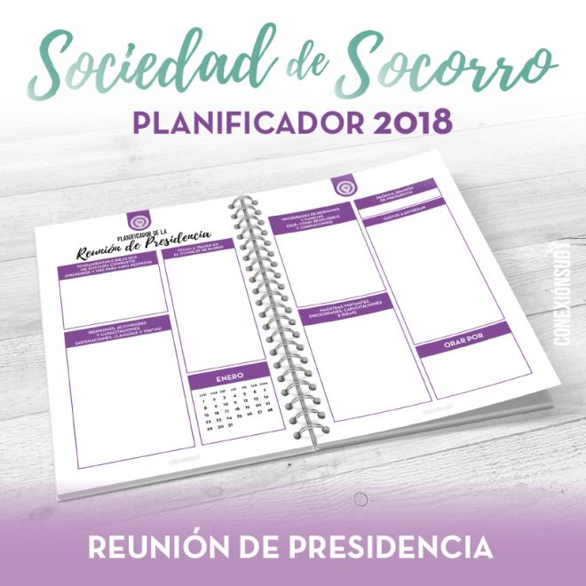 Planificador de la Sociedad de Socorro 2018 - Conexion SUD 01