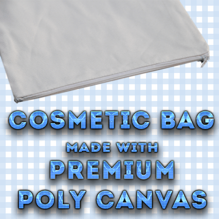 white polyester canvas