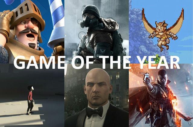 2017 Nordic Game Awards, Nordic GotY