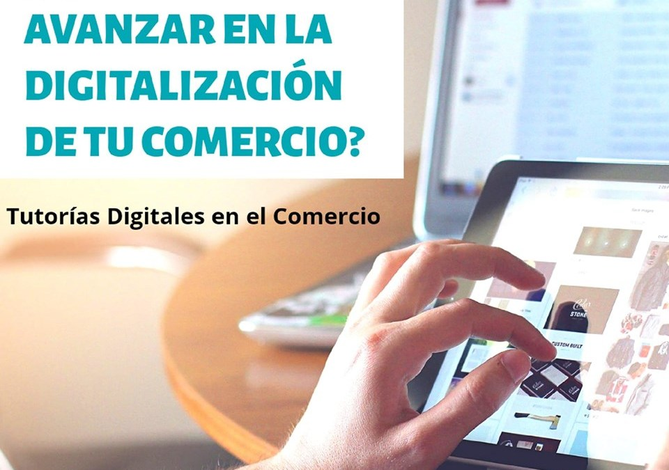 Nueva convocatoria de tutorías digitales en el comercio