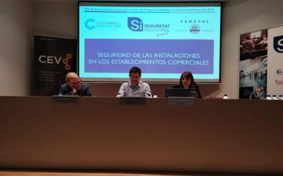 Confecomerç CV colabora en la Jornada Sobre Seguridad en Establecimientos Comerciales e impulsa entre sus asociados diagnósticos gratuitos para evaluar sus comercios