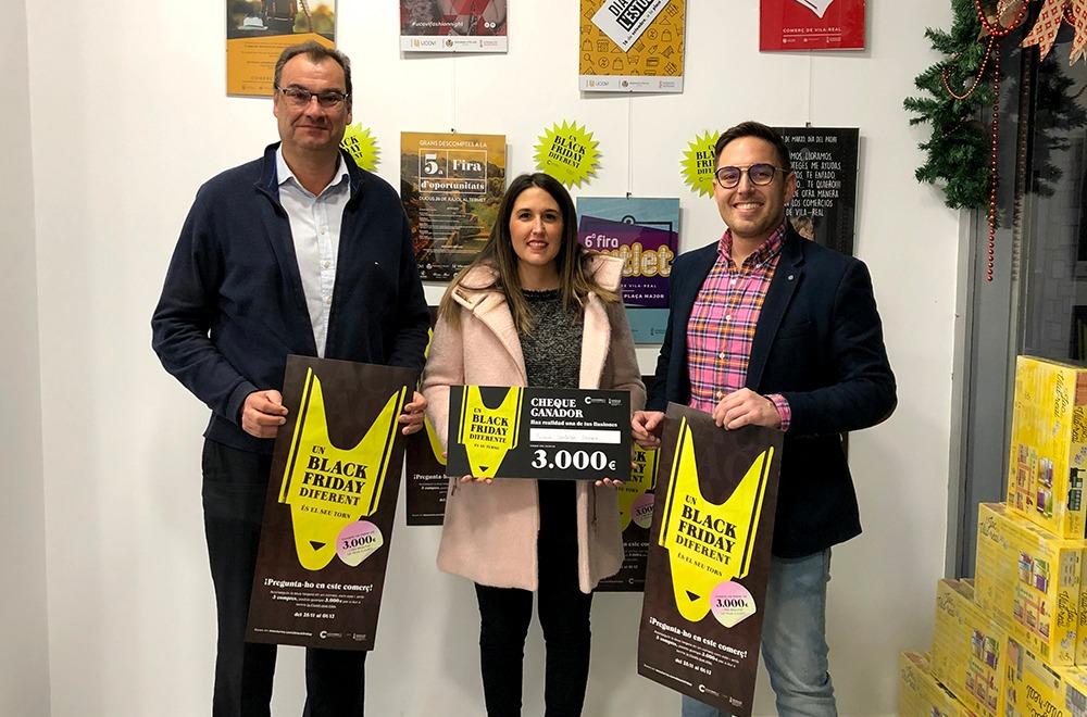 """Confecomerç CV hace entrega esta tarde del premio dotado con 3.000 euros en compras de la campaña autonómica """"Un Black Friday Diferente"""""""