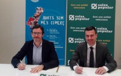 Confecomerç CV firma un convenio de colaboración con Caixa Popular para potenciar el comercio en la Comunitat Valenciana