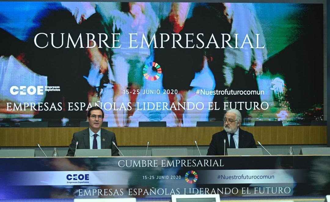 cumbre de CEOE
