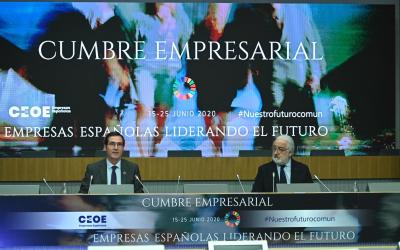 """La CEC defiende la necesidad de proteger al comercio, """"sector estratégico de la economía española"""", en la cumbre de CEOE"""