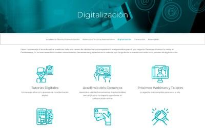 Confecomerç CV reúne en un nuevo espacio todos sus servicios de apoyo a la digitalización del pequeño comercio