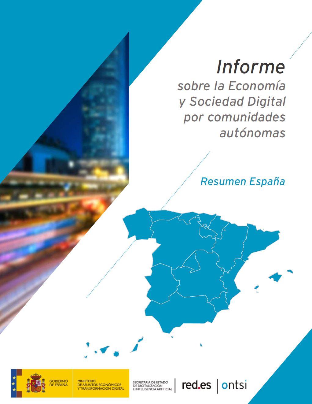 Informe sobre la economía y sociedad digital por comunidades autónomas: Comunidad Valenciana (2020)