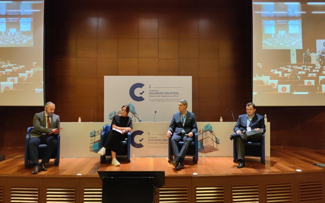 El I Congreso de Seguridad Industrial reúne a más de 500 personas en Valencia