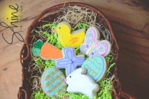 #2 Shot Easter Cookies
