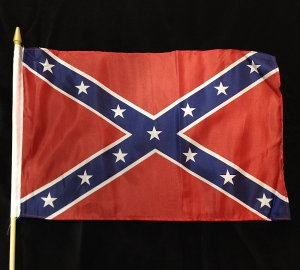 Rebel flag for graves