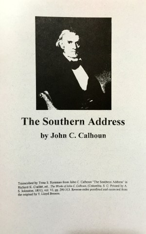 the southern address