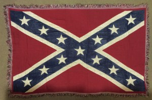 confederate rebel flag blanket throw cover