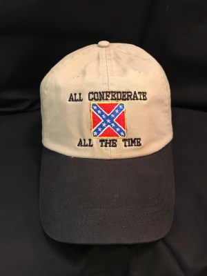 Confederate rebel hat ANV flag