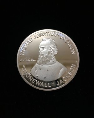 thomas stonewall jackson commemorative coin
