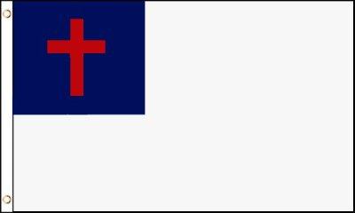 christian cross flag
