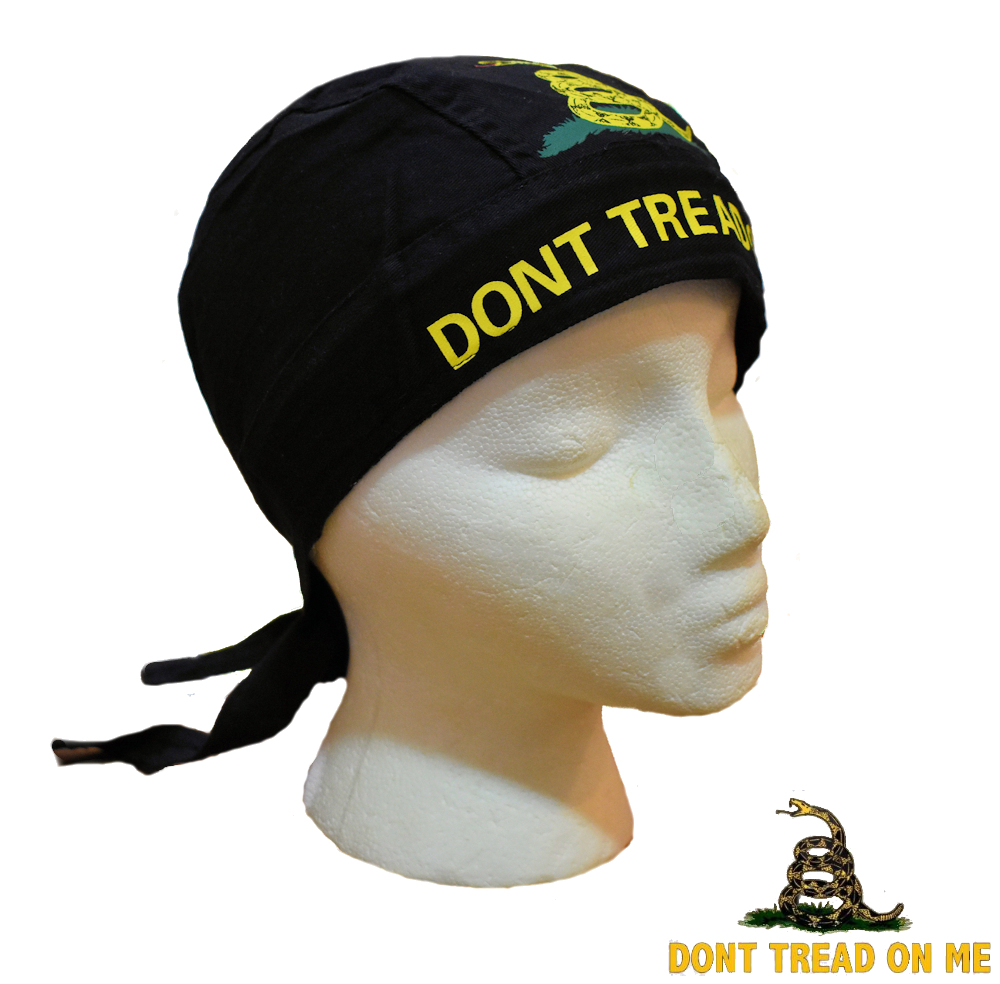 c11052c90d7 Don t Tread On Me Do-Rag - Confederate Shop