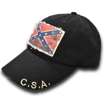distressed look hat