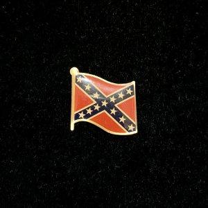 rebel flag lapel pin