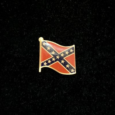 rebel flag lapel pin