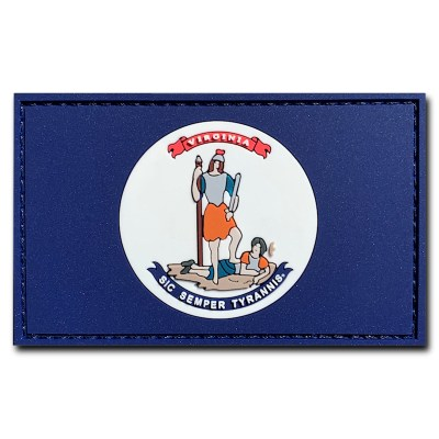 1861 regimental virginia flag
