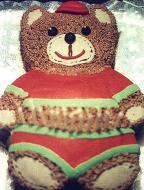 Torta Infantil Ursinho Pelúcia
