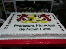 Torta prefeitura Nova Lima 2