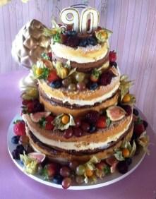 Torta Naked Cake da Dona Nega