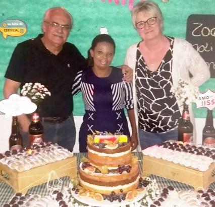 Aniversário da Jaqueline, ex-funcionária da Nanni