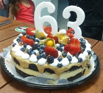 Torta do Paulinho 63 anos