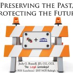 Preserving the Past, Protecting the Future – FGS Luncheon