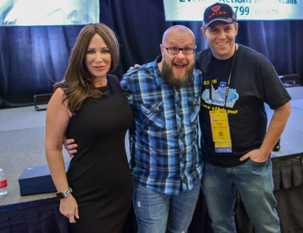 Missy Ward, Greg Gifford, and Shawn Collins